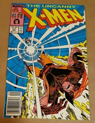 1987 MARVEL THE UNCANNY X-MEN #221 1ST APPEARANCE MISTER SINISTER higher grade