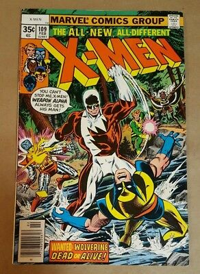 X-Men #109 (1978) New Marvel Collection 1st appearance Vindicator