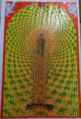 East Totem West Satty Poster 1967, Fillmore Era Psychedelia