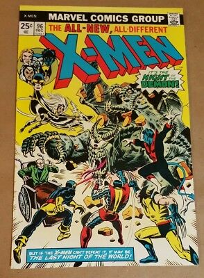 X-Men #96 (Marvel 1975) 1st App:  Moria Mac Taggert; New Team; Wolverine