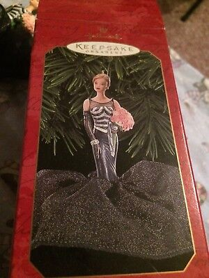 NIB HALLMARK Keepsake 1999 BARBIE 40TH ANNIVERSARY Christmas Ornament MATTEL