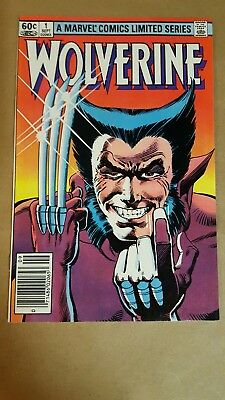 WOLVERINE 1 (Marvel, 1982) Chris Claremont and Frank Miller LIMITED SERIES