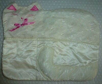 cAT VANITY DRAWER HANDKERCHIEF HOLDER 2 POCKETS DON'T KNOW WHAT THIS IS neocurio