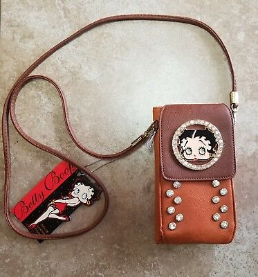 Betty Boop Cell Phone Wallet w/ Strap