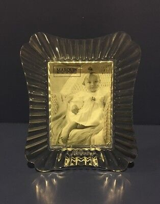 """Marquis By Waterford 2 3/8"""" X 3 1/4"""" Easton Picture Frame-Sticker & Tag"""