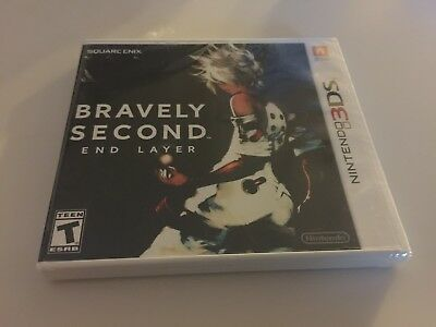 Bravely Second: End Layer (Nintendo 3DS, 2016) NEW