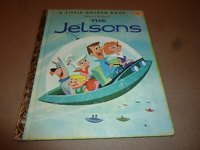 THE JETSONS Little Golden Book VINTAGE childrens book 1962 hanna barbera