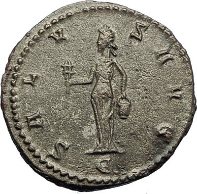 CLAUDIUS II Gothicus Genuine Authentic Ancient 268AD Roman Coin w ISIS i69295