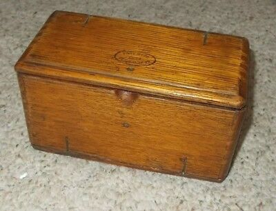 Singer Puzzle Box with Attachments Sewing Primitive