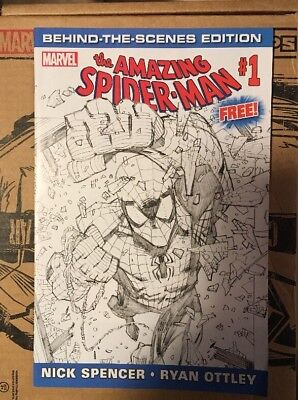 Amazing Spider-Man #1 Behind The Scenes Edition