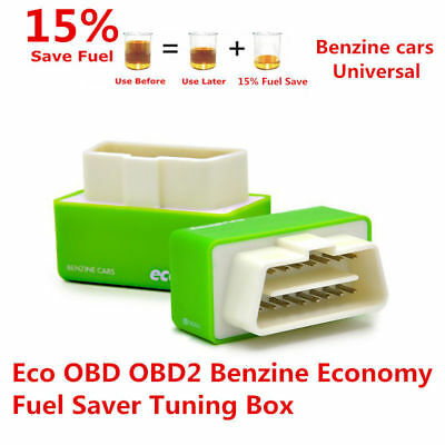 Eco OBD OBD2 Economy Fuel Saver Tuning Box Chip For Petrol Car Gas Saving