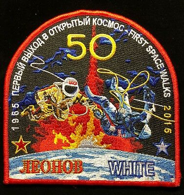 First Space Walk 50 Year Ed White Commemorative 1965-2015 Tim Gagnon Art Patch