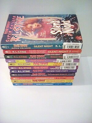 Fear Street SUPER CHILLER Horror Fiction Young Adult R. L. Stine Books