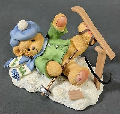 Cherished Teddies ~ Spencer - I'm Head Over Skis For You (269743)  **MINT**