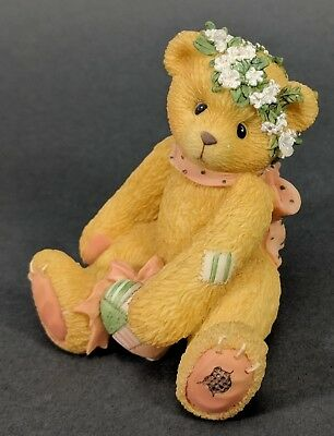 Cherished Teddies ~ Jasmine - A Bouquet Of Blessings For You (202940)  **MINT**