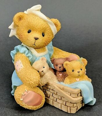 Cherished Teddies ~ Tanna - When Your Hands Are Full (476595) Mother's Day  MINT