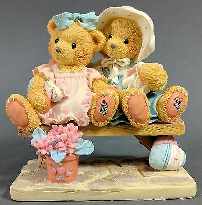 Cherished Teddies ~ Tracie & Nicole - Side by Side With Friends (911372)  *MINT*