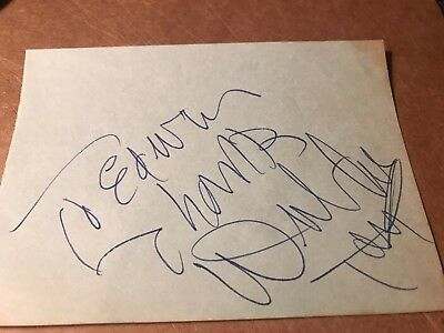 Dub Taylor Autograph, Character Actor