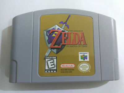 For Nintendo 64 N64 Game Legend of Zelda The Ocarina of Time Card US Version