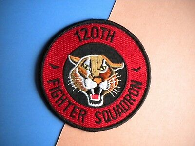 120th Fighter Squadron Colorado Air National Guard USAF Patch