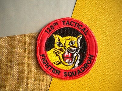 120th Tactical Fighter Squadron Colorado ANG USAF Patch (Southeast Asia-made)