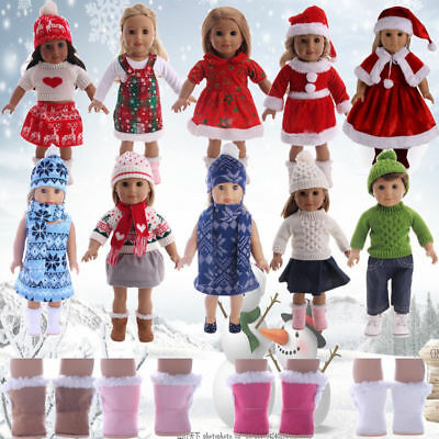 Handmade Doll Clothes Dress Pajama Shoes Bag Accessory For 18in Our Generation