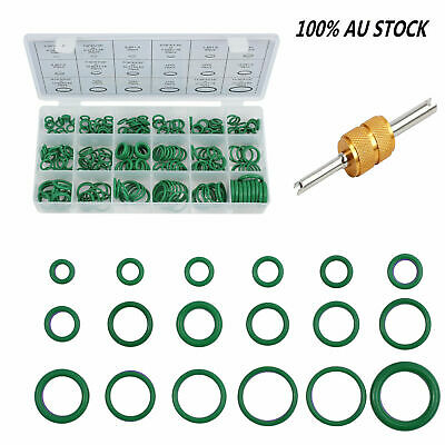 270pcs 18 Sizes AC A/C System O-Ring Seals Oring Air Conditioning Rapid Seal Kit
