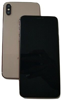 """For Phone XS Max 6.5"""" Gold Color 1:1 Dummy Non-Working Shop Display Model-B"""