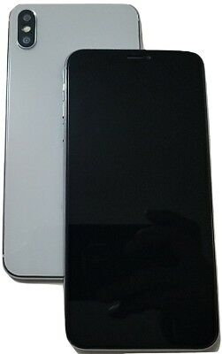 """For Phone XS Max 6.5"""" Silver Color 1:1 Dummy Non-Working Shop Display Model-B"""