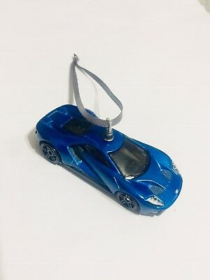 New Ford GT Super Car Ornament Gift Mustang Muscle Chevy Dodge Camaro R8 Porsche