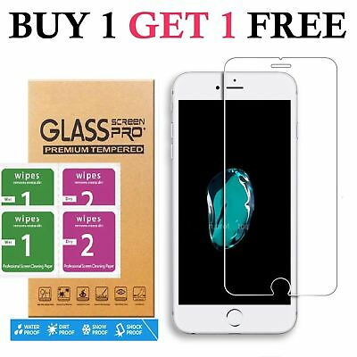 For iPhone 8 Plus Tempered Glass Screen Protector – CRYSTAL CLEAR 2Pcs