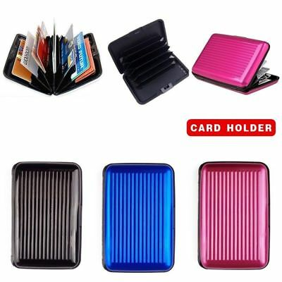New RFID Blocking Aluminum Credit Card Holder Anti Scan Wallet Card Case New