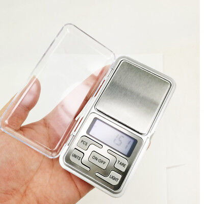 Digital Scale Portable 200g x 0.01g Mini Jewelry Pocket Balance Weight Gram LCD
