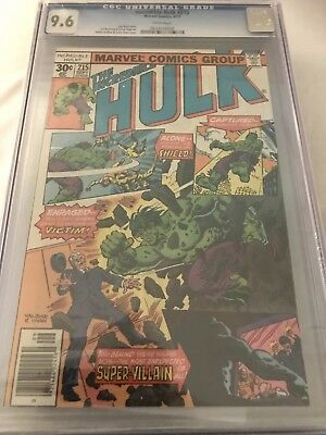 The Incredible Hulk #215 'Against Shield'