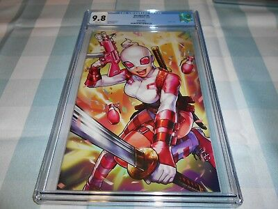 Deadpool #5 Cgc 9.8 (Gwenpool Battle Lines Virgin) (Combined Shipping Available)