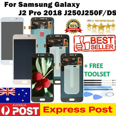 For Samsung Galaxy J2 Pro 2018 J250 LCD Display Touch Screen Digitizer Assembly