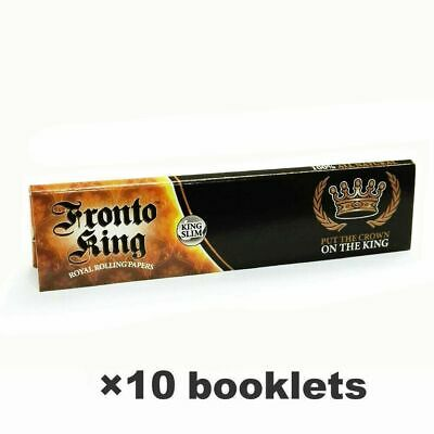 Fr*to K*g Hemp Cigarette Rolling Papers 108*45mm 10 Booklets=320 leaves smoking