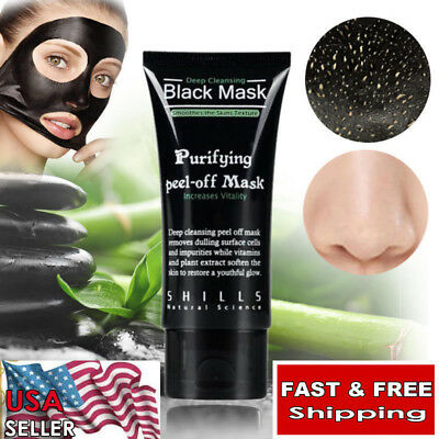 Shills blackhead remover Deep Cleansing purifying peel acne mud face mask
