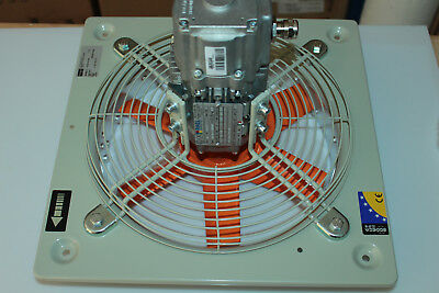 Sodeca Radiallüfter HCDF-31-4M Axial fans square frame ATEX Ex d certification