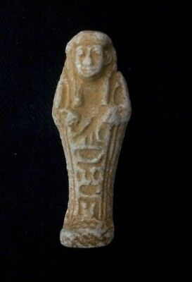 Rare EGYPTIAN ANTIQUES FAIENCE AMULET Ushabti Shabti or Shawabti 2600-2100 BC