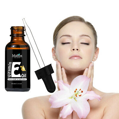 Mabox Natural Organic Vitamin E Oils For Face Brighting Reducing Wrinkles