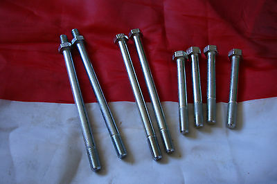 Triumph 500/650 Pre Unit 8 Stud Cylinder Head Bolt Set