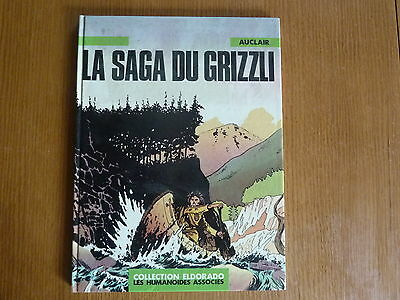 La Saga Du Grizzli *** Auclair