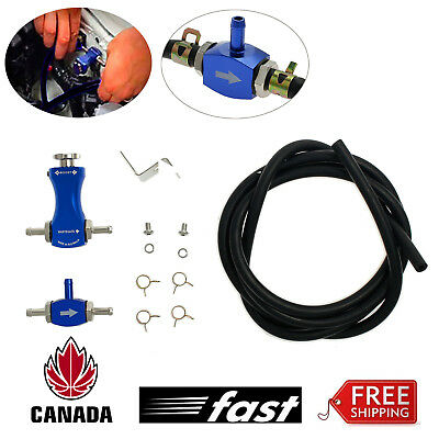 Turbo Boost Controller Adjustable Car Manual Turbocharger Boost Valve Blue NEW
