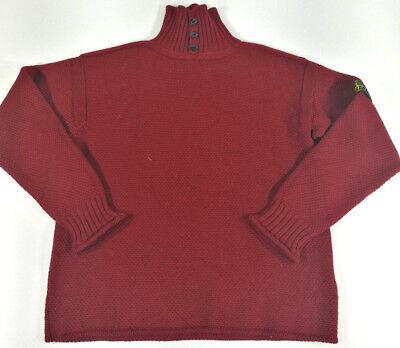 Stone Isalnd Pullover Maglione Jersey Sweater Vintage Lana Wool '80S
