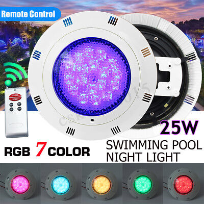 LED Underwater Swimming Pool Light Show Fountains Lamp Pond Light RGB 5 Colours