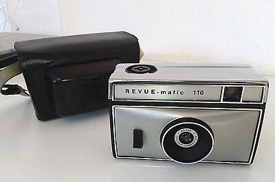 Revue - matic 110 mit Tasche / Revue colour corrected / Top Zustand !!!