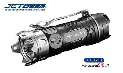 New Jetbeam Jet II Pro Aluminum Cree XP-L HI 510 Lumens LED Flashlight Torch