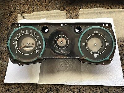 Chevelle Malibu SS Gauge Dash Cluster Bezel Assembly Original 1964 1965 64 65
