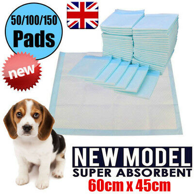 50 100 150 60X45Cm Large Puppy Training Pads Toilet Pee Wee Mats Pet Dog Cat